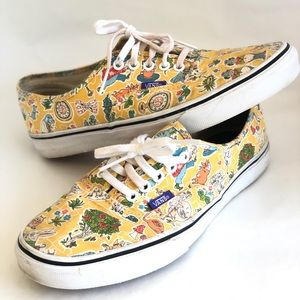 Vans x Liberty Alice in Wonderland Sneakers